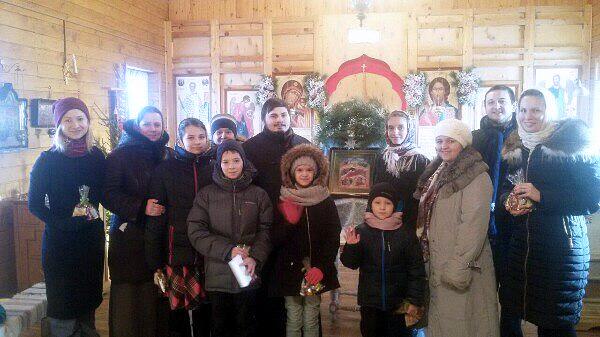 Рождество Христово на приходе Михаило-Архангельского храма города Коломны